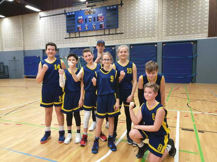 U14 Auswärtssieg vs. Schalke 04 Basketball